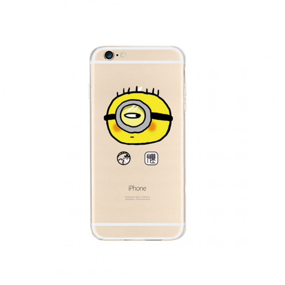 10% OFF + FREE SHIPPING, Buy PDair iPhone Pattern Printed Soft Clear Case (Minions Cutie) which is available for iPhone 6 | iPhone 6s, iPhone 6 Plus | iPhone 6s Plus, iPhone 5 | iPhone 5s SE. You also can go to the customizer to create your own stylish le