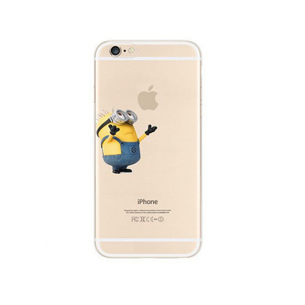 10% OFF + FREE SHIPPING, Buy PDair iPhone Pattern Printed Soft Clear Case Minions Give me Hug which is available for iPhone 5 | iPhone 5s SE 6 6s, iPhone 6 Plus | iPhone 6s Plus. You also can go to the customizer to create your own stylish leather case if