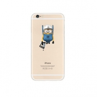Minions Look At You iPhone 6s 6 Plus SE 5s 5 Pattern Printed Soft Case