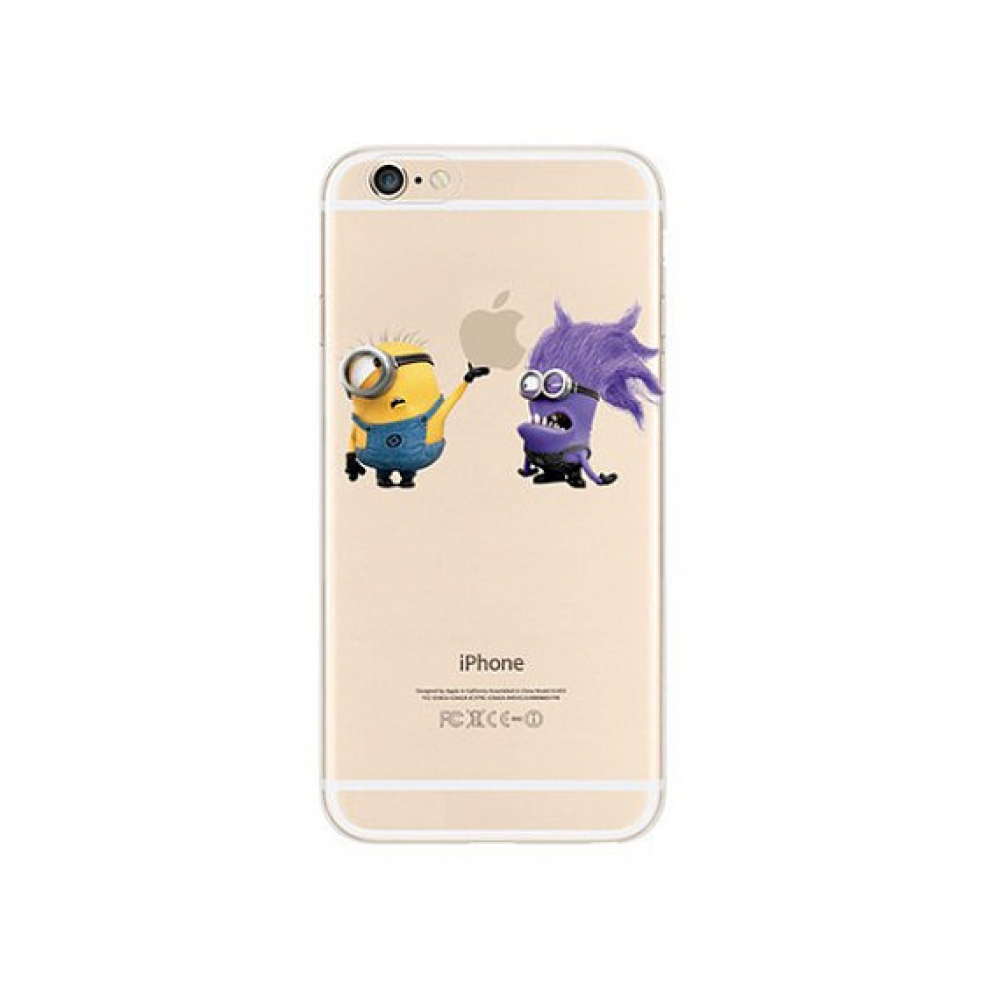 10% OFF + FREE SHIPPING, Buy PDair iPhone Soft Clear Case (Minions Monster Touch Apple) which is available for iPhone 6 | iPhone 6s, iPhone 6 Plus | iPhone 6s Plus, iPhone 5 | iPhone 5s SE. You also can go to the customizer to create your own stylish leat