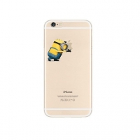 Minions Push Apple iPhone 6s 6 Plus SE 5s 5 Pattern Printed Soft Case