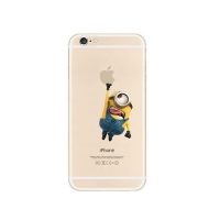 Minions Touch Apple iPhone 6s 6 Plus SE 5s 5 Pattern Printed Soft Case