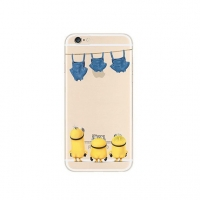 Minions Turn Back Jeans iPhone 6s 6 Plus SE 5s 5 Pattern Printed Soft Case