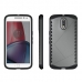 Moto G4 Plus Hybrid Combo Aegis Armor Case Cover (Grey) protective carrying case by PDair