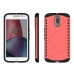 Moto G4 Plus Hybrid Combo Aegis Armor Case Cover (Pink) protective carrying case by PDair