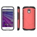 Moto G 3rd Gen 2015 Hybrid Combo Aegis Armor Case Cover (Pink) protective carrying case by PDair