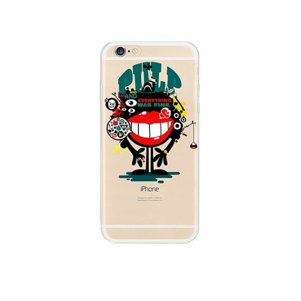 10% OFF + FREE SHIPPING, Buy PDair iPhone Pattern Printed Soft Clear Case Monster Big Mouth which is available for iPhone 6 | iPhone 6s, iPhone 6 Plus | iPhone 6s Plus, iPhone 5 | iPhone 5s SE You also can go to the customizer to create your own stylish l
