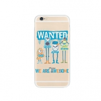 Monster Wanted iPhone 6s 6 Plus SE 5s 5 Pattern Printed Soft Case