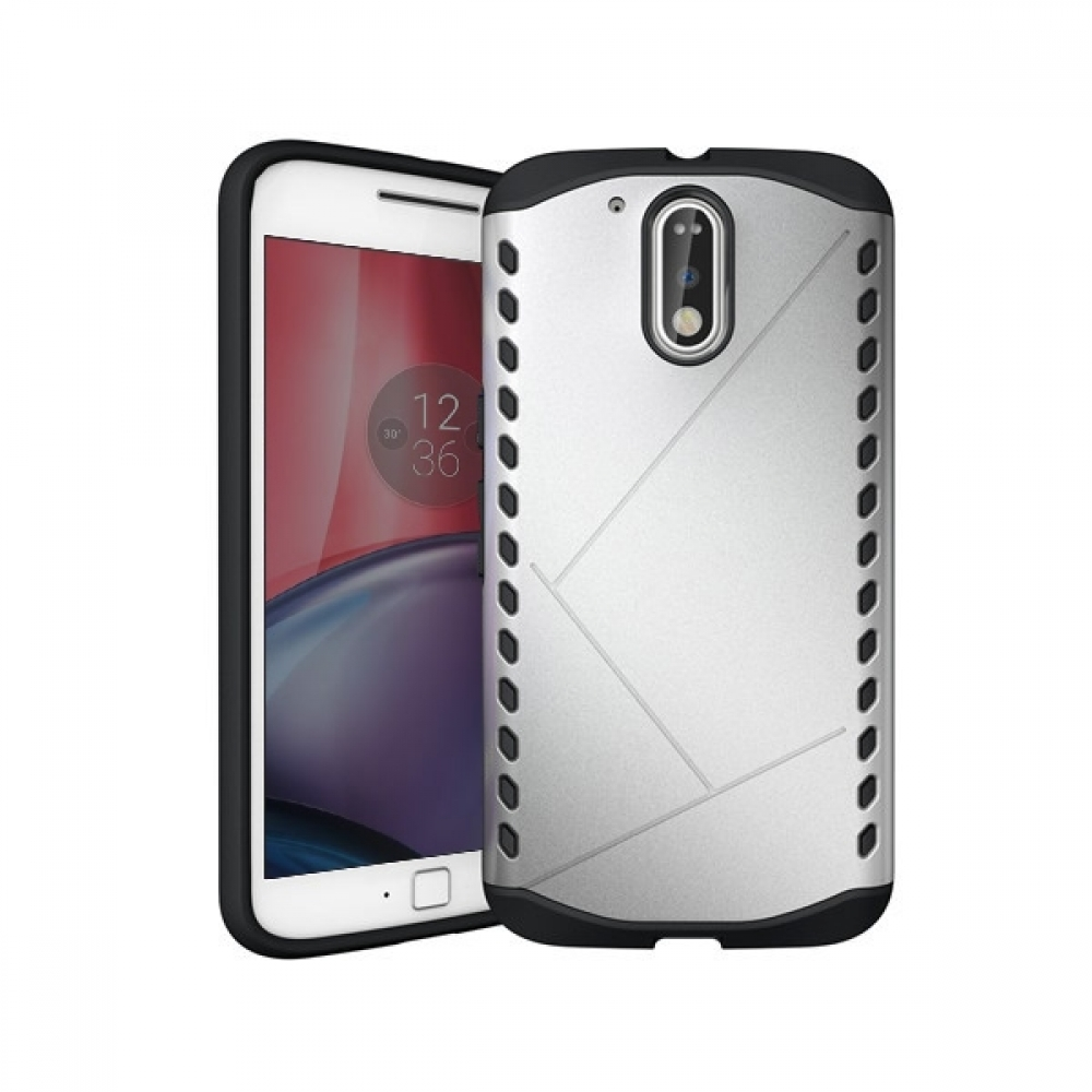 10% OFF + FREE Shipping, Buy Best PDair Premium Protective Moto G4 Plus Hybrid Combo Aegis Armor Case Cover (Silver) online. You also can go to the customizer to create your own stylish leather case if looking for additional colors, patterns and types.