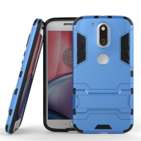 Motorola Moto G4 Plus Tough Armor Protective Case (Blue)