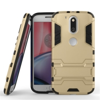 Motorola Moto G4 Plus Tough Armor Protective Case (Gold)