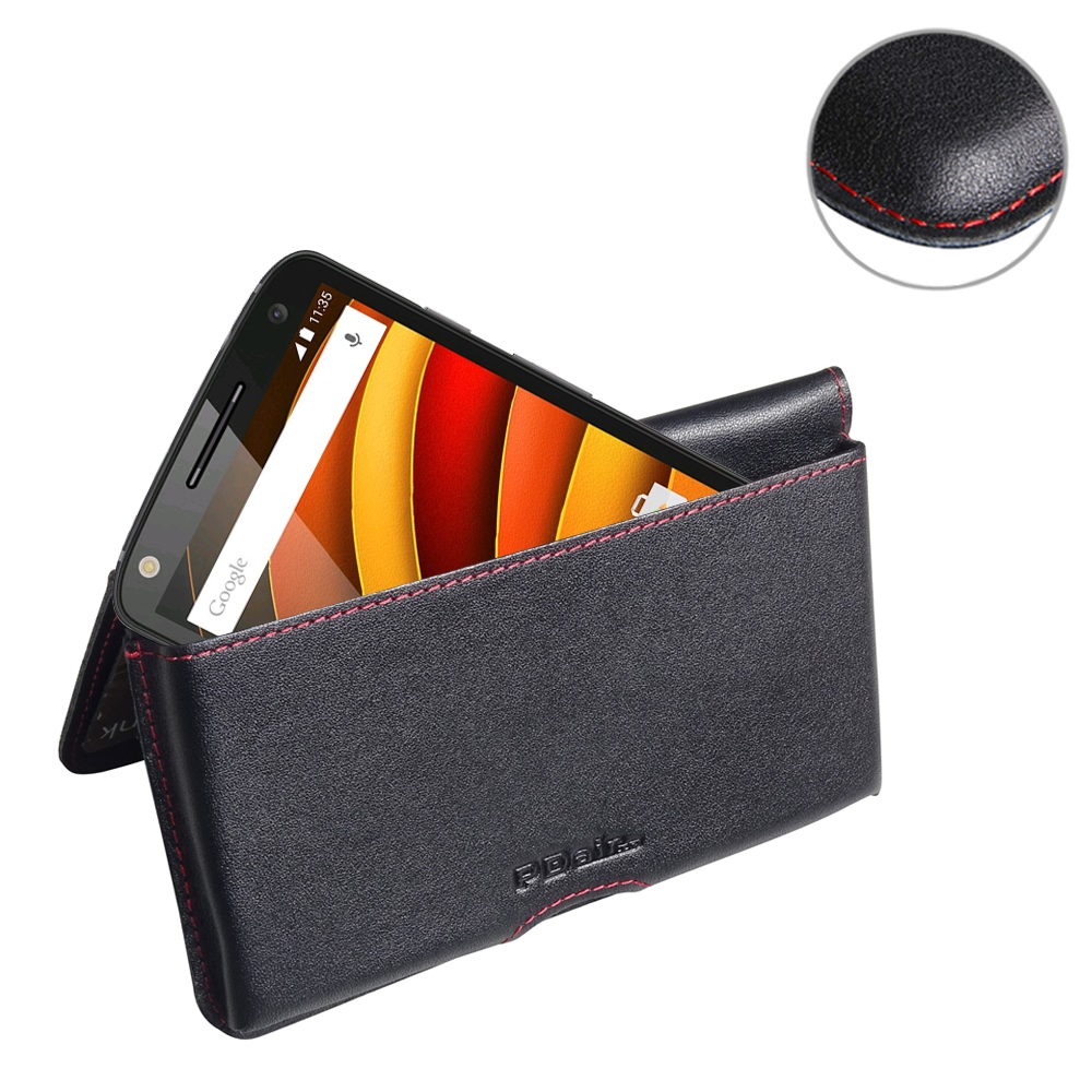 10% OFF + FREE SHIPPING, Buy Best PDair Quality Handmade Protective Moto X Force Leather Wallet Pouch Case (Red Stitch) online. Pouch Sleeve Holster Wallet You also can go to the customizer to create your own stylish leather case if looking for additional
