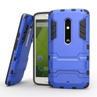 Motorola Moto X Play Tough Armor Protective Case (Blue)