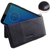 10% OFF + FREE SHIPPING, Buy the BEST PDair Handcrafted Premium Protective Carrying Motorola Moto E6 Leather Wallet Pouch Case (Red Stitch). Exquisitely designed engineered for Motorola Moto E6.