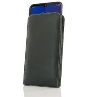 Leather Vertical Pouch Case for Motorola Moto E6 Plus | Moto E6s