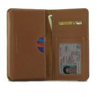 Leather Card Wallet for Motorola Moto E6 Plus | Moto E6s (Brown)