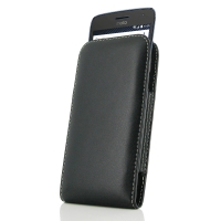 Leather Vertical Pouch Case for Motorola Moto G5 Plus