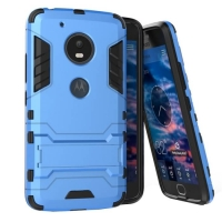 Motorola Moto G5 Plus Tough Armor Protective Case (Blue)