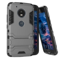 Motorola Moto G5 Plus Tough Armor Protective Case (Grey)