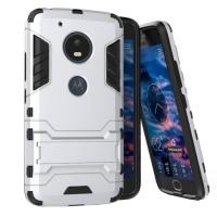 Motorola Moto G5 Plus Tough Armor Protective Case (Silver)