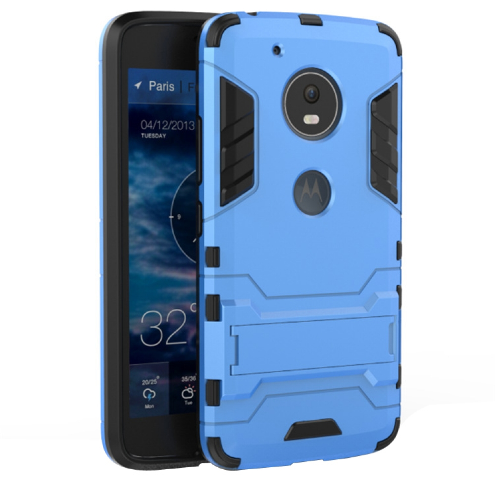 low priced b2cde a480e Motorola Moto G5 Tough Armor Protective Case (Blue)