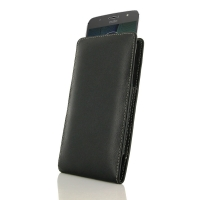 Leather Vertical Pouch Case for Motorola Moto G5S Plus