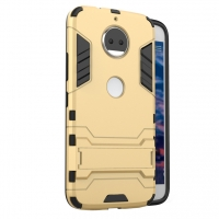 Motorola Moto G5S Plus Tough Armor Protective Case (Gold)