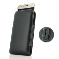 Leather Vertical Pouch Belt Clip Case for Motorola Moto G5S