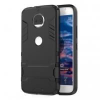 Motorola Moto G5S Tough Armor Protective Case (Black)