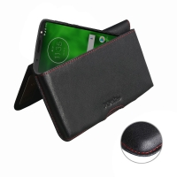 10% OFF + FREE SHIPPING, Buy the BEST PDair Handcrafted Premium Protective Carrying Motorola Moto G6 Leather Wallet Pouch Case (Red Stitch). Exquisitely designed engineered for Motorola Moto G6.