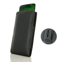 10% OFF + FREE SHIPPING, Buy the BEST PDair Handcrafted Premium Protective Carrying Motorola Moto G6 Play Pouch Case with Belt Clip. Exquisitely designed engineered for Motorola Moto G6 Play.