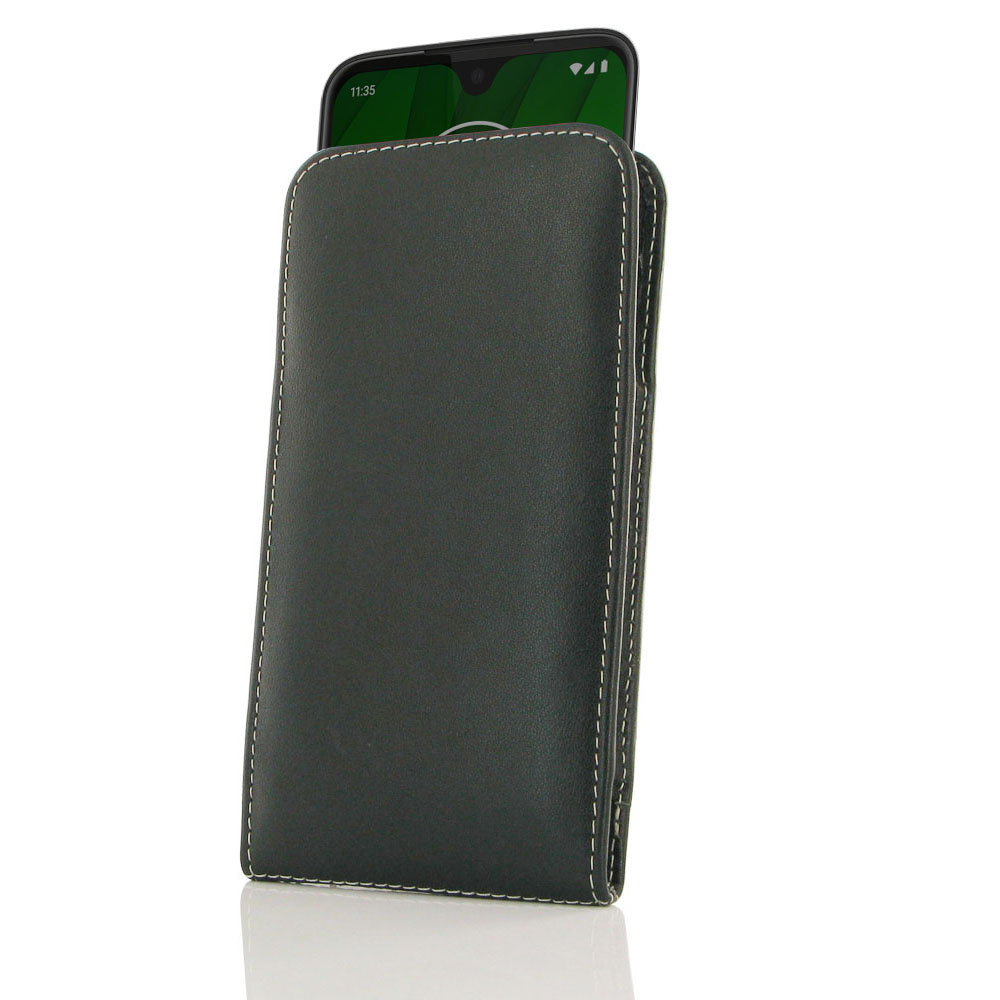 10% OFF + FREE SHIPPING, Buy the BEST PDair Handcrafted Premium Protective Carrying Motorola Moto G7 Leather Sleeve Pouch Case. Exquisitely designed engineered for Motorola Moto G7.
