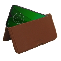 10% OFF + FREE SHIPPING, Buy the BEST PDair Handcrafted Premium Protective Carrying Motorola Moto G7 Leather Wallet Pouch Case (Brown). Exquisitely designed engineered for Motorola Moto G7.