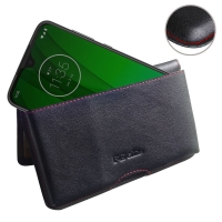 10% OFF + FREE SHIPPING, Buy the BEST PDair Handcrafted Premium Protective Carrying Motorola Moto G7 Leather Wallet Pouch Case (Red Stitch). Exquisitely designed engineered for Motorola Moto G7.