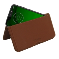 10% OFF + FREE SHIPPING, Buy the BEST PDair Handcrafted Premium Protective Carrying Motorola Moto G7 Play Leather Wallet Pouch Case (Brown). Exquisitely designed engineered for Motorola Moto G7 Play.