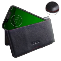 10% OFF + FREE SHIPPING, Buy the BEST PDair Handcrafted Premium Protective Carrying Motorola Moto G7 Play Leather Wallet Pouch Case (Red Stitch). Exquisitely designed engineered for Motorola Moto G7 Play.