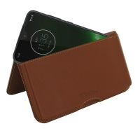 10% OFF + FREE SHIPPING, Buy the BEST PDair Handcrafted Premium Protective Carrying Motorola Moto G7 Plus Leather Wallet Pouch Case (Brown). Exquisitely designed engineered for Motorola Moto G7 Plus.