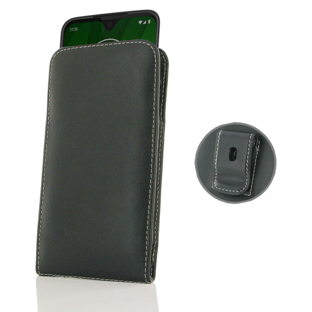 10% OFF + FREE SHIPPING, Buy the BEST PDair Handcrafted Premium Protective Carrying Motorola Moto G7 Pouch Case with Belt Clip. Exquisitely designed engineered for Motorola Moto G7.