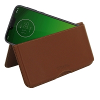 10% OFF + FREE SHIPPING, Buy the BEST PDair Handcrafted Premium Protective Carrying Motorola Moto G7 Power Leather Wallet Pouch Case (Brown). Exquisitely designed engineered for Motorola Moto G7 Power.
