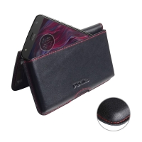 10% OFF + FREE SHIPPING, Buy the BEST PDair Handcrafted Premium Protective Carrying Motorola Moto X4 | Moto X (4th gen.) Leather Wallet Pouch Case (Red Stitch). Exquisitely designed engineered for Motorola Moto X4 | Moto X (4th gen.).