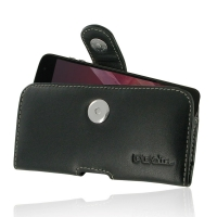Leather Horizontal Pouch Case with Belt Clip for Motorola Moto Z2 Play | Moto Z Play(2nd gen.)