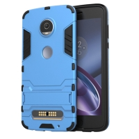 Motorola Moto Z2 Play Tough Armor Protective Case (Blue)