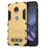 Motorola Moto Z2 Play Tough Armor Protective Case (Gold)