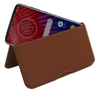 10% OFF + FREE SHIPPING, Buy the BEST PDair Handcrafted Premium Protective Carrying Motorola Moto Z4 Leather Wallet Pouch Case (Brown). Exquisitely designed engineered for Motorola Moto Z4.