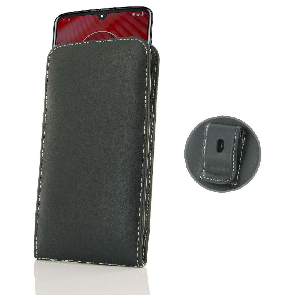 10% OFF + FREE SHIPPING, Buy the BEST PDair Handcrafted Premium Protective Carrying Motorola Moto Z4 Pouch Case with Belt Clip. Exquisitely designed engineered for Motorola Moto Z4.