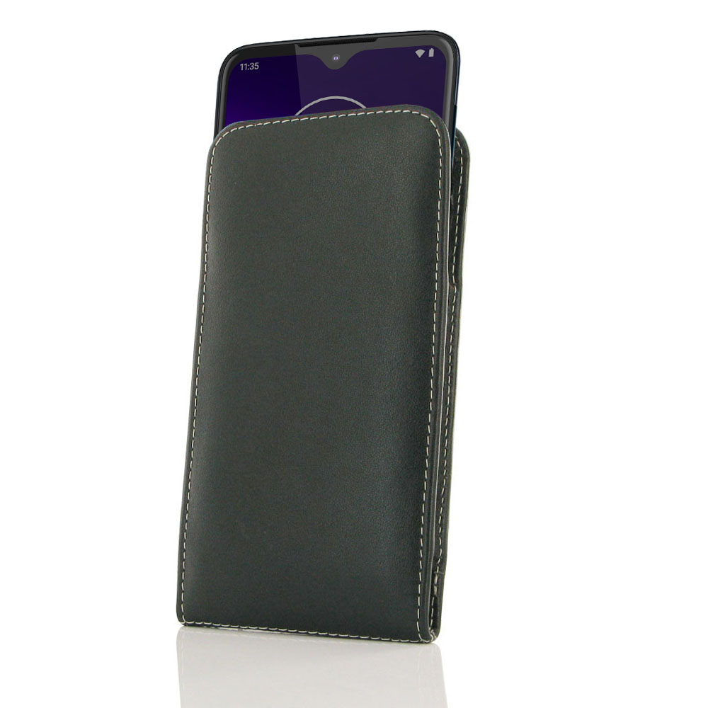 10% OFF + FREE SHIPPING, Buy the BEST PDair Handcrafted Premium Protective Carrying Motorola One Macro Leather Sleeve Pouch Case. Exquisitely designed engineered for Motorola One Macro.