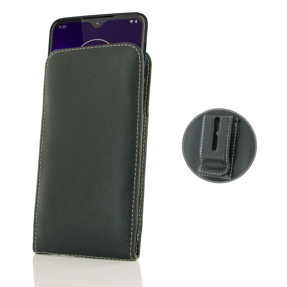 10% OFF + FREE SHIPPING, Buy the BEST PDair Handcrafted Premium Protective Carrying Motorola One Macro Pouch Case with Belt Clip. Exquisitely designed engineered for Motorola One Macro.
