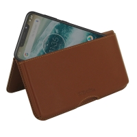 10% OFF + FREE SHIPPING, Buy the BEST PDair Handcrafted Premium Protective Carrying Motorola One | P30 Play Leather Wallet Pouch Case (Brown). Exquisitely designed engineered for Motorola One | P30 Play.