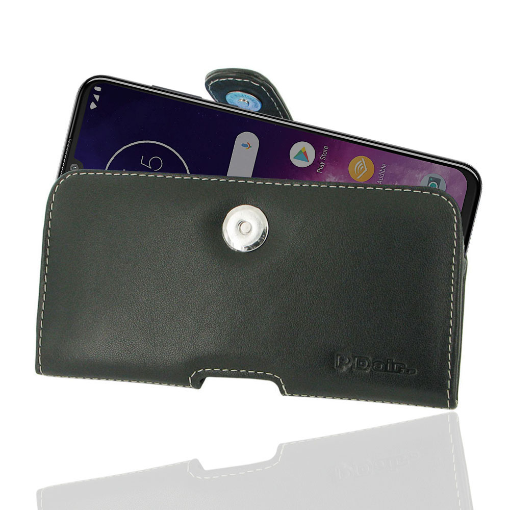 10% OFF + FREE SHIPPING, Buy the BEST PDair Handcrafted Premium Protective Carrying Motorola One Zoom Leather Holster Case. Exquisitely designed engineered for Motorola One Zoom.