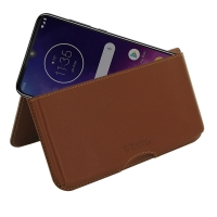 10% OFF + FREE SHIPPING, Buy the BEST PDair Handcrafted Premium Protective Carrying Motorola One Zoom Leather Wallet Pouch Case (Brown). Exquisitely designed engineered for Motorola One Zoom.